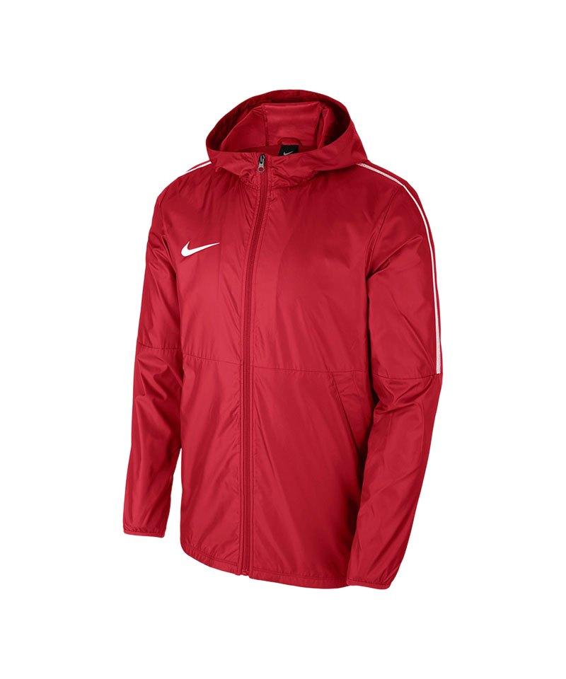 Nike Park 18 Regenjacke Allwetterjacke Jacke Fußball Herren schwarz AA2090 010