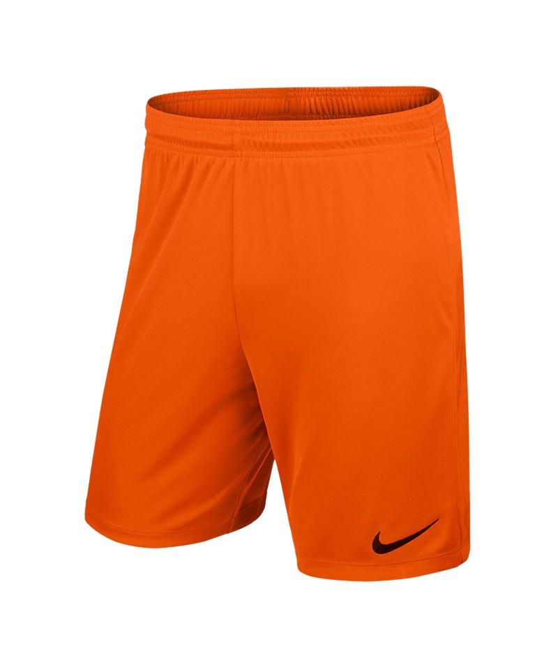 Verkaufsförderung Online gehen letzte Veröffentlichung Nike Park II Short mit Innenslip Orange F815