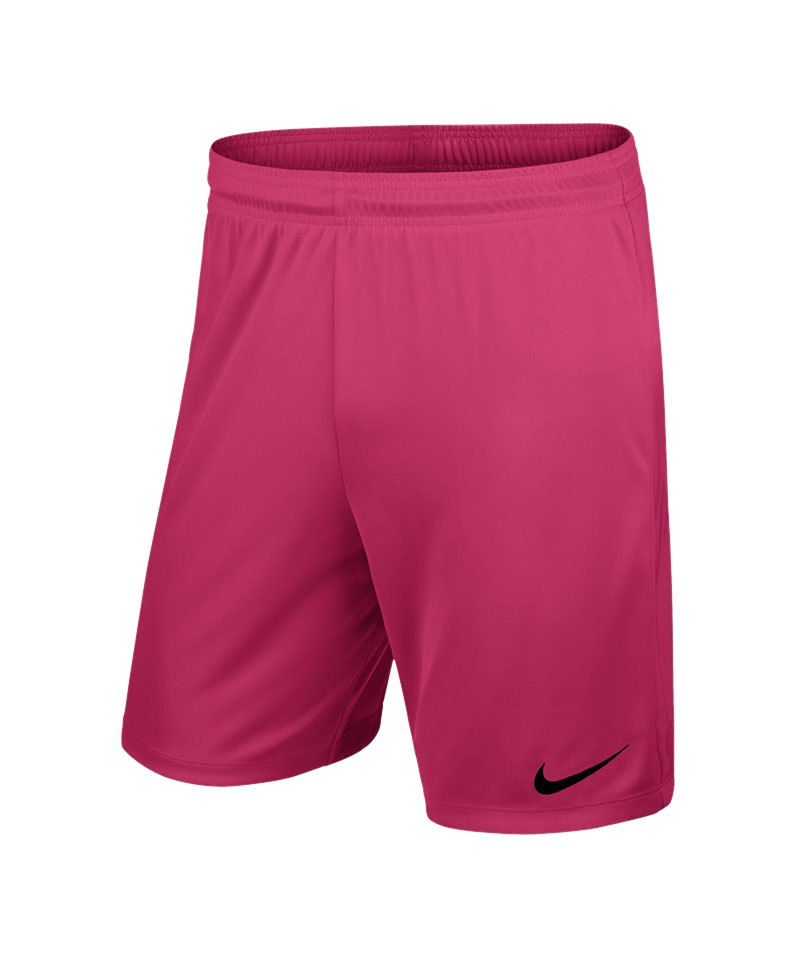 running shoes best cheap best deals on Nike Park II Short mit Innenslip Pink F616