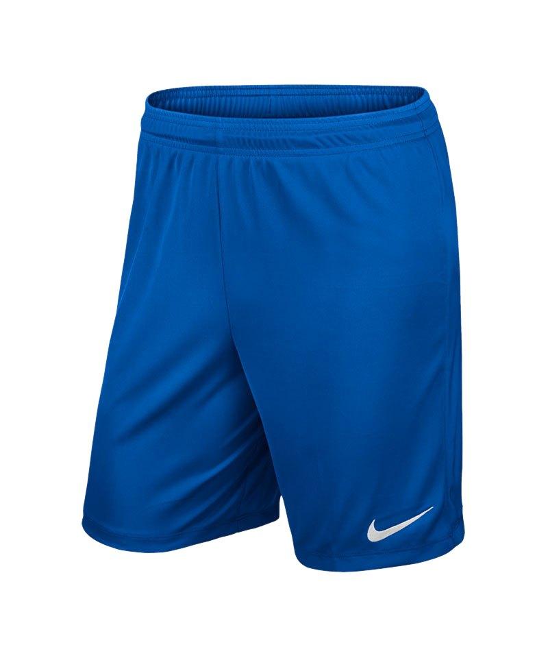 hot sale online 50ce3 1e895 Nike Park II Short ohne Innenslip Blau F463 - blau