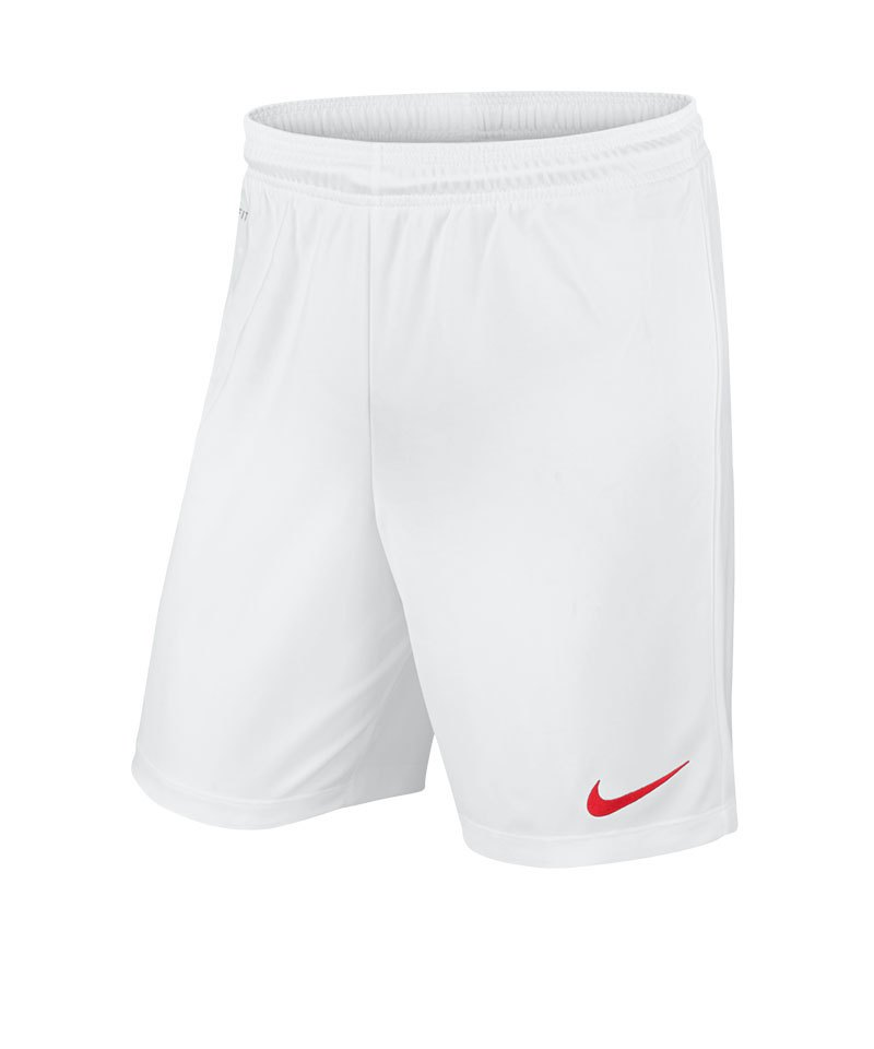 the latest b2bd9 301af Nike Park II Short ohne Innenslip Weiss F102 - weiss