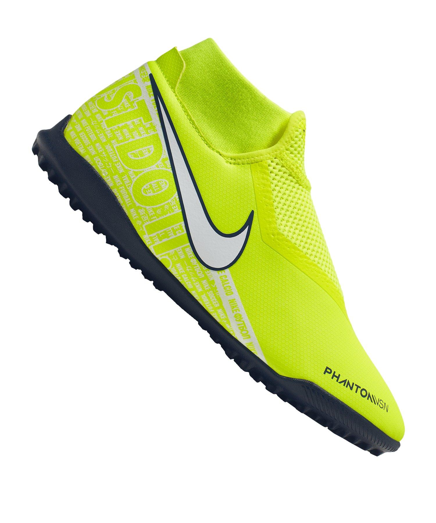 Nike Phantom Vision Academy DF TF Gelb F717