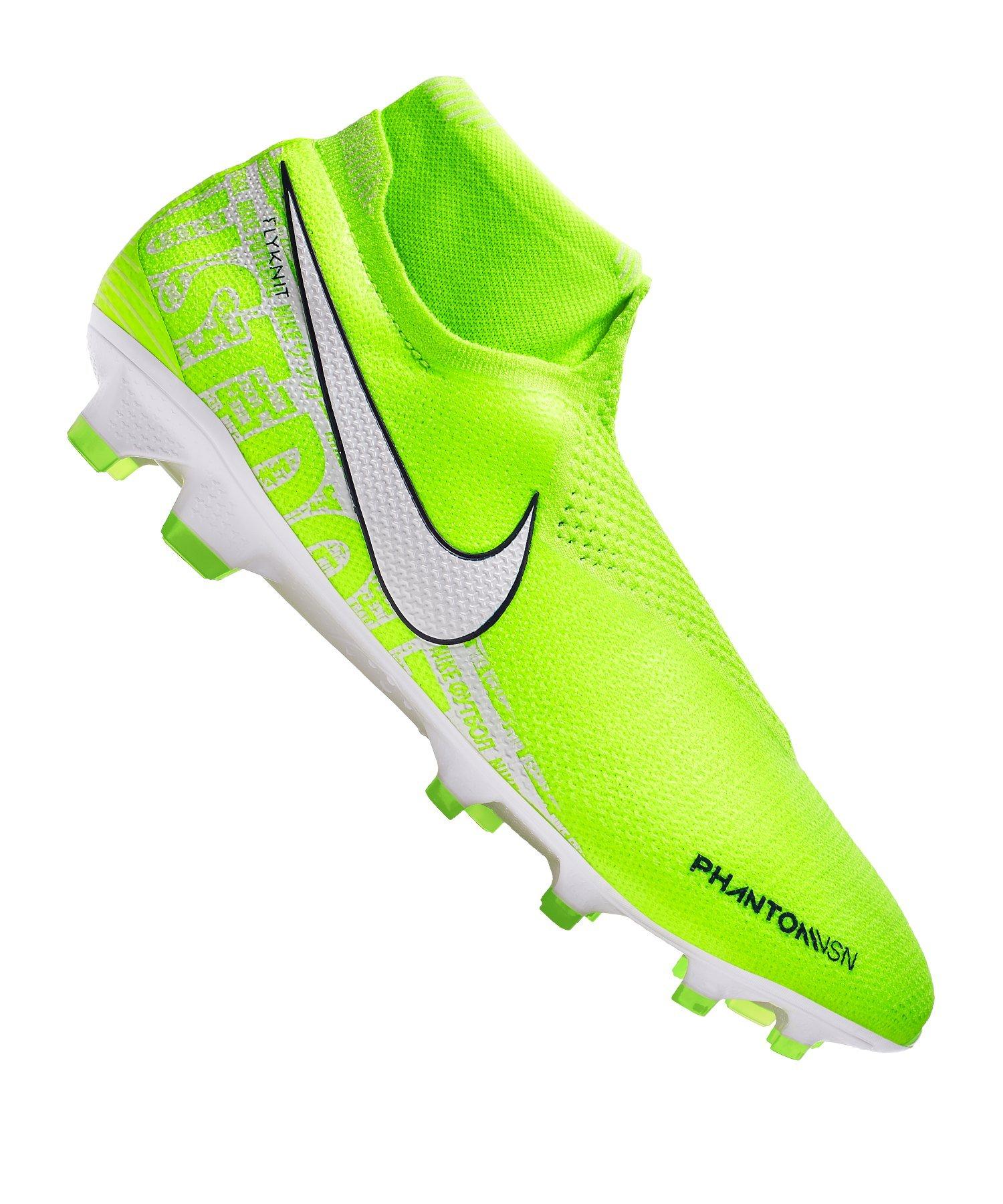 Nike Fussball Schuhe neon gelb gr 41