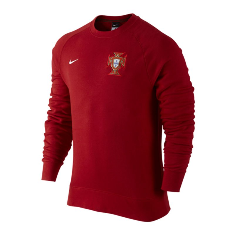 nike portugal authentic aw77 sweatshirt rot f687. Black Bedroom Furniture Sets. Home Design Ideas