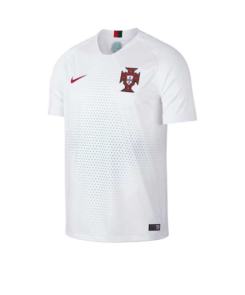 Nike Portugal Trikot Away WM2018 Weiss F100