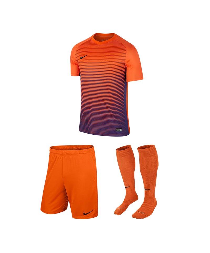 super popular 66479 4c88f Nike Precision IV Trikotset Kids Orange F815