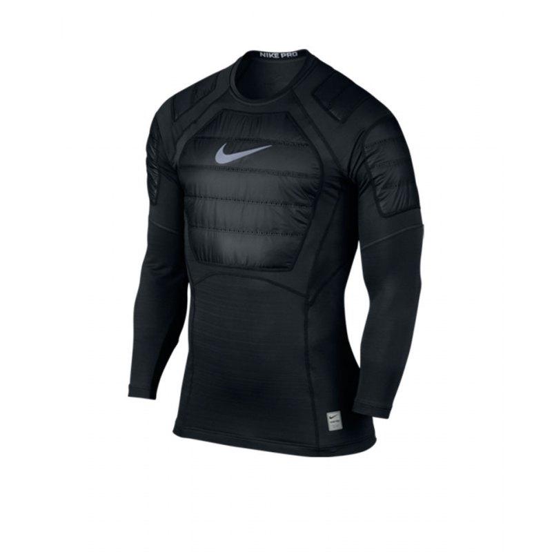Nike Pro AeroLoft Top Langarmshirt Schwarz F010 - schwarz