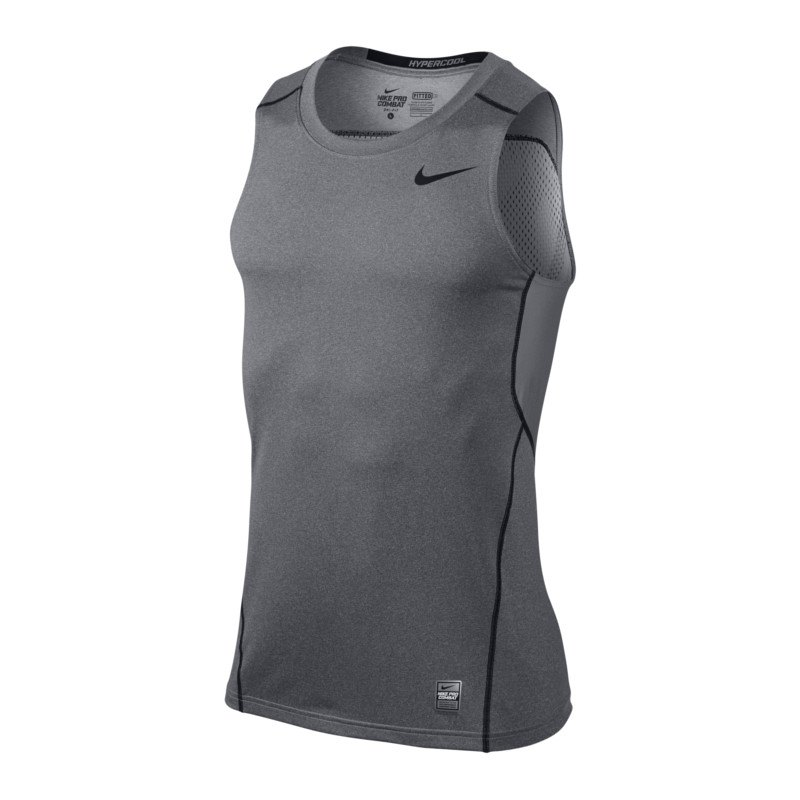 nike pro combat hypercool fitted tank top f091 herren. Black Bedroom Furniture Sets. Home Design Ideas