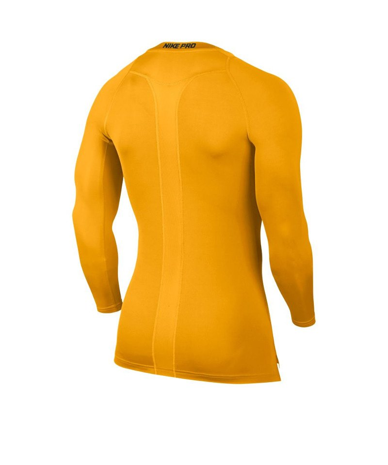 27d0fa2da9d0db ... Nike Pro Compression LS Shirt Gelb F739 - gelb ...