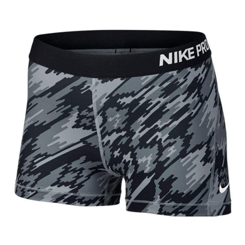nike damen shorts pro 3 zoll cool 725443 010 schwarz. Black Bedroom Furniture Sets. Home Design Ideas