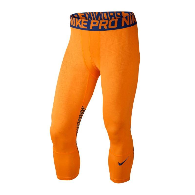 nike pro hypercool 3 4 tight orange f868 sporthose bekleidung underwear unterw sche. Black Bedroom Furniture Sets. Home Design Ideas