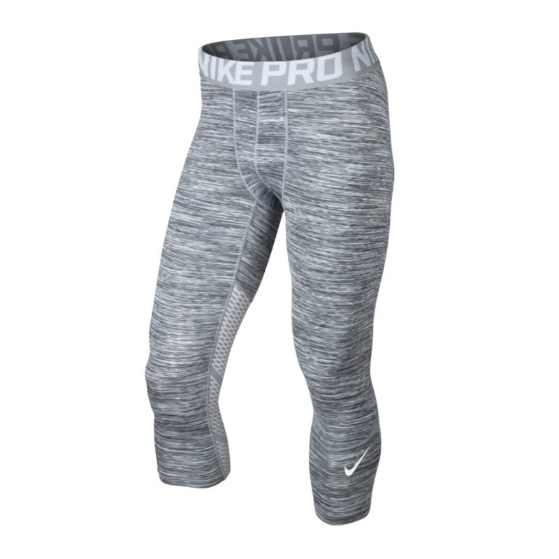 Nike Pro Hypercool 3/4 Tight Space Dye F100 - weiss