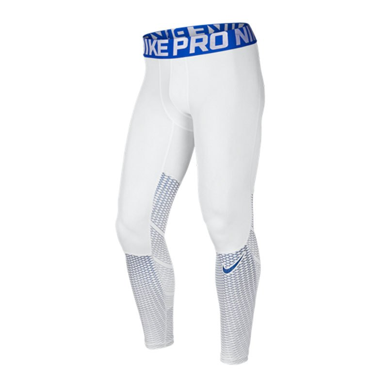 Nike Pro Hypercool Max Tight Weiss F100 - weiss
