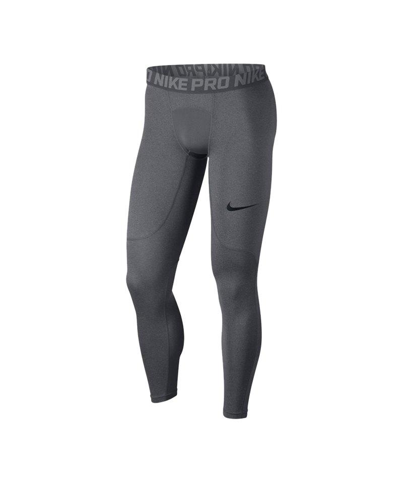 149dd1ea071a83 Nike Pro Tight Hose lang Grau F091 - grau