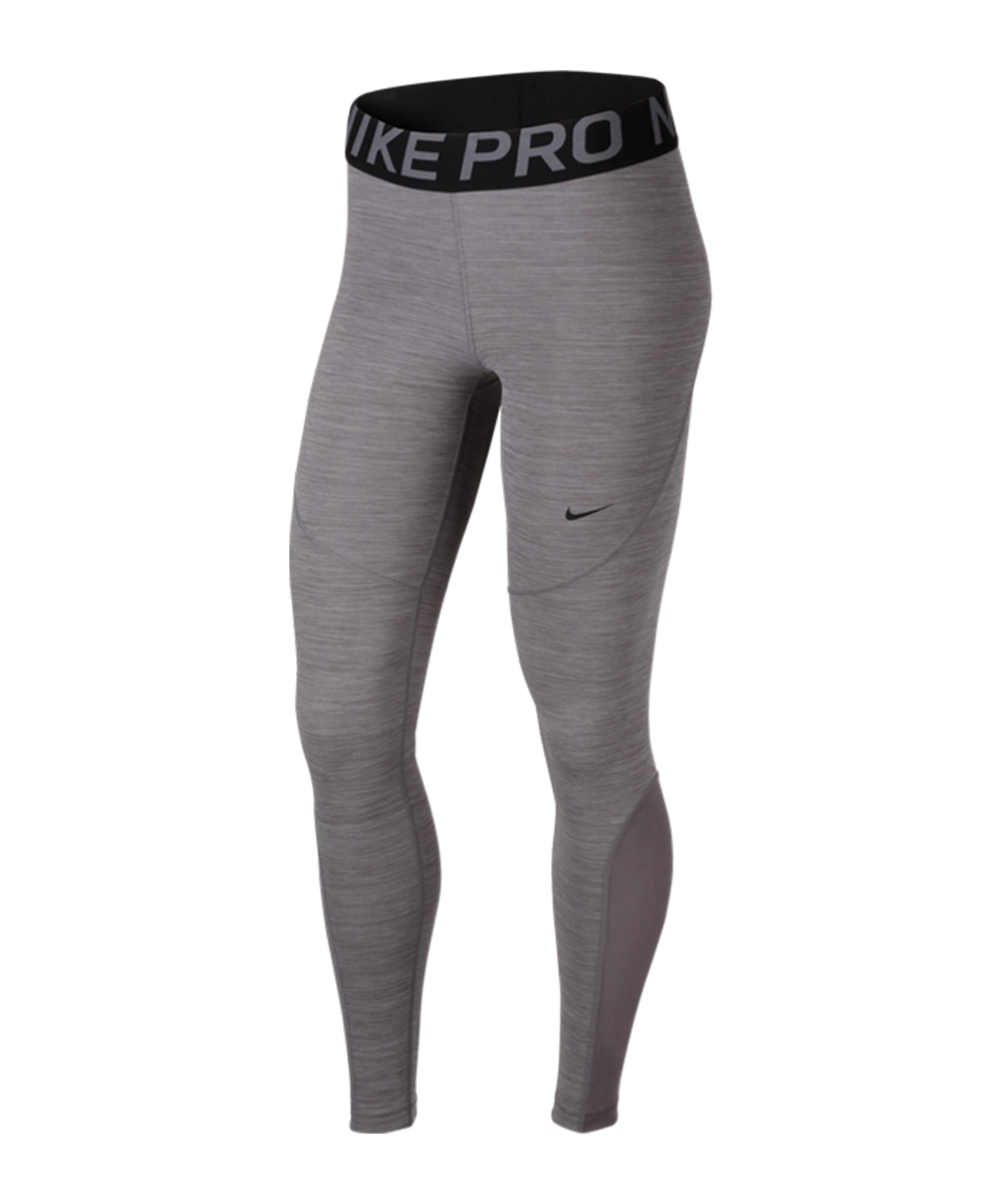 enemigo Pagar tributo perder  Nike Pro Tights Leggings Damen Grau Schwarz F063 - Sport-1a