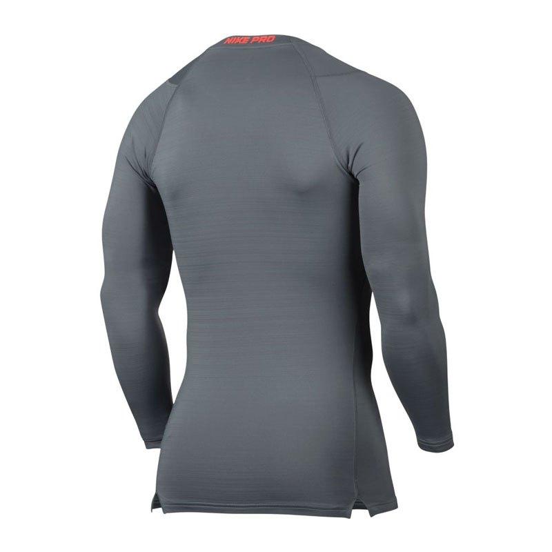 Nike Pro Warm Longsleeve Shirt Grau F065