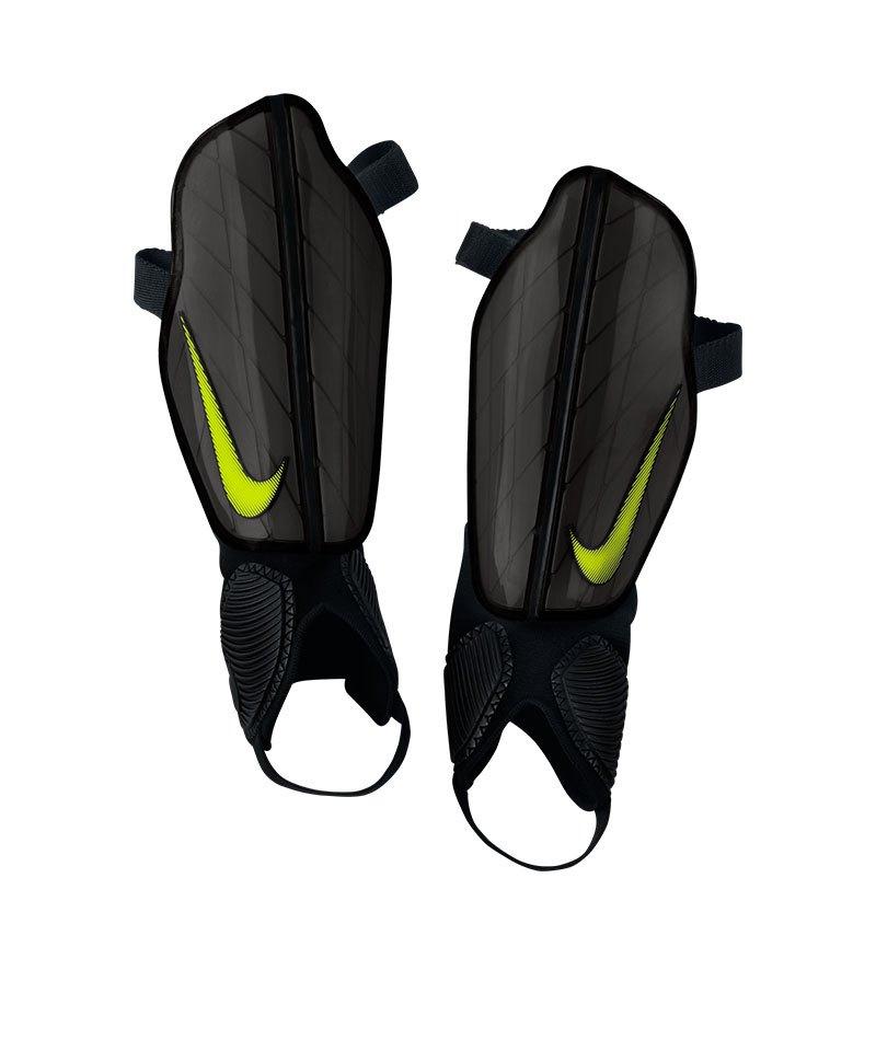 Nike Protège-Tibias Mercurial Lite Gris Jaune Fluo