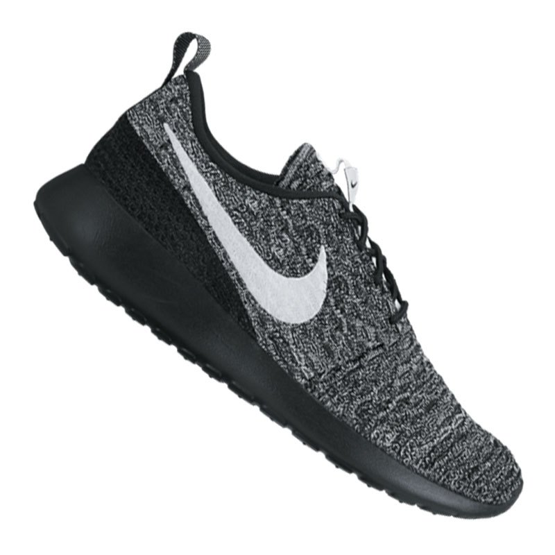 Top Quality Nike Roshe Run Flyknit Rot And Schwarz 762e0 7c7ca