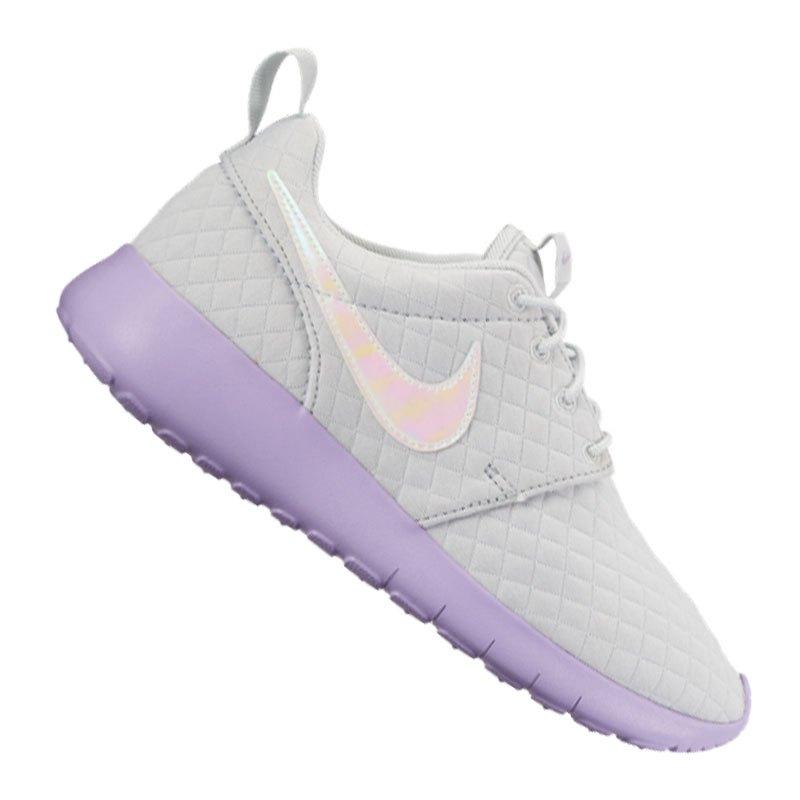 d51a27918069 Nike Roshe One SE Sneaker Kids Grau Lila F002   Freizeit   Lifestyle ...