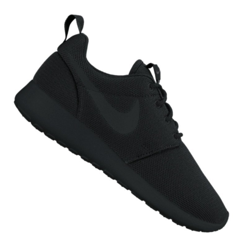 nike roshe run one sneaker damen schwarz f001 schuh. Black Bedroom Furniture Sets. Home Design Ideas