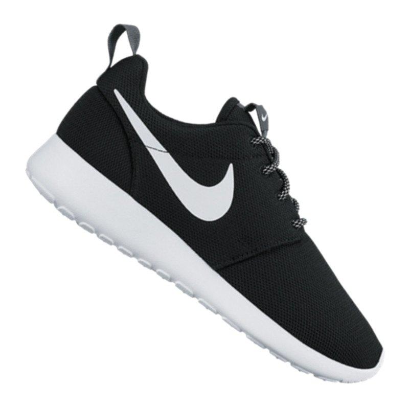 Nike Roshe Run One Sneaker Damen Schwarz F002