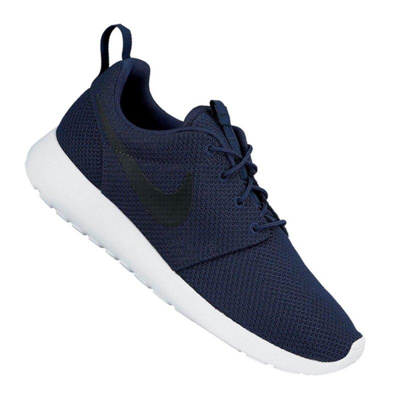 Nike Roshe Run Sneaker Blau Schwarz F405
