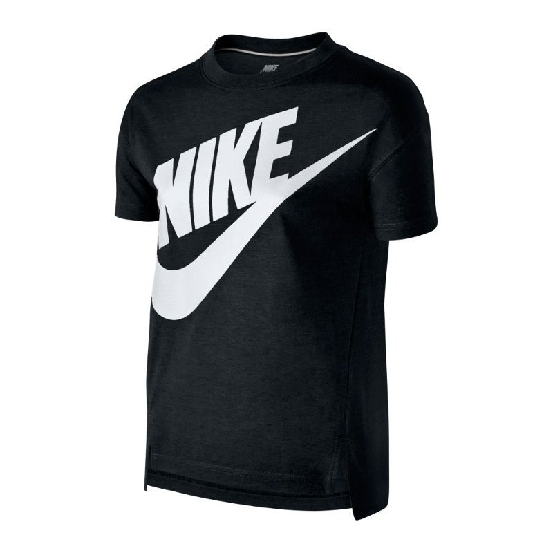 Nike signal tee t shirt kids schwarz f010 shirt logo for Kd t shirt nike