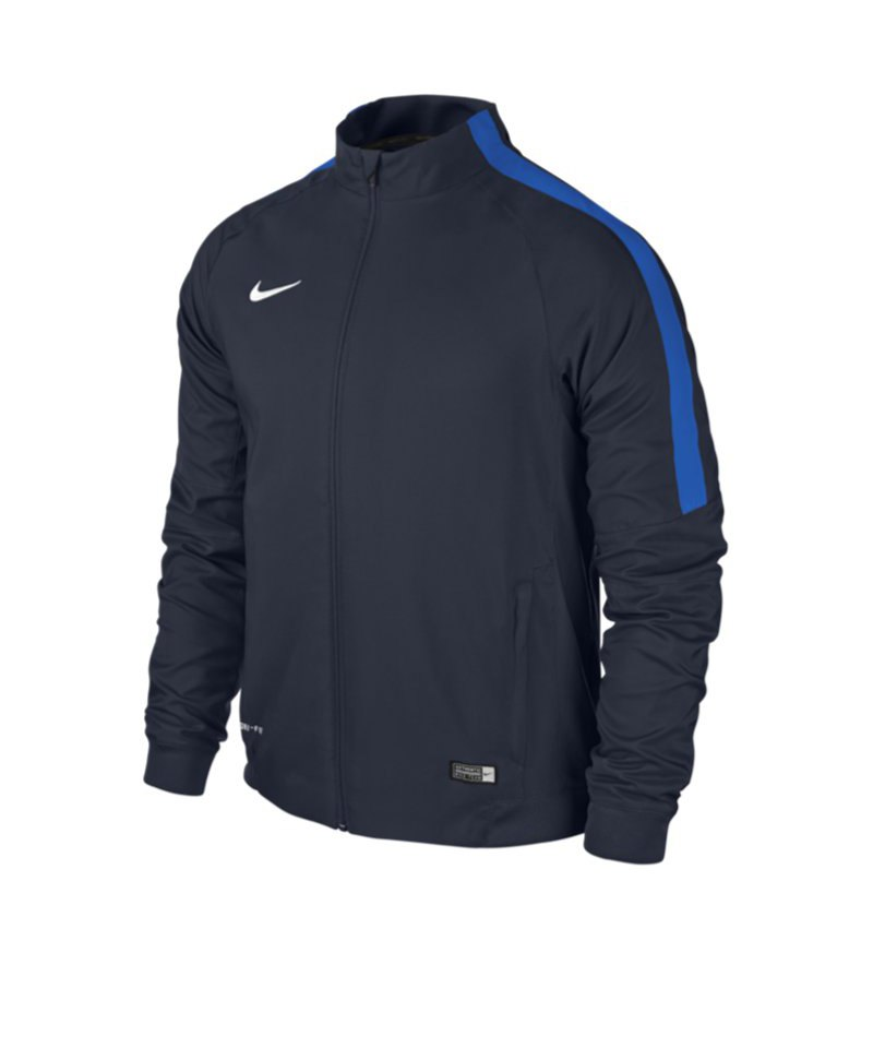 100% Polyester Nike Squad 15 Kinder Präsentationsjacke