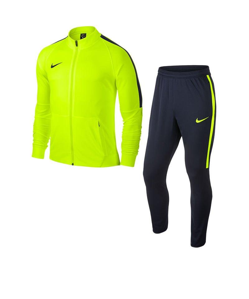 Nike Squad 17 Dry Trainingsanzug Kids Gelb F702