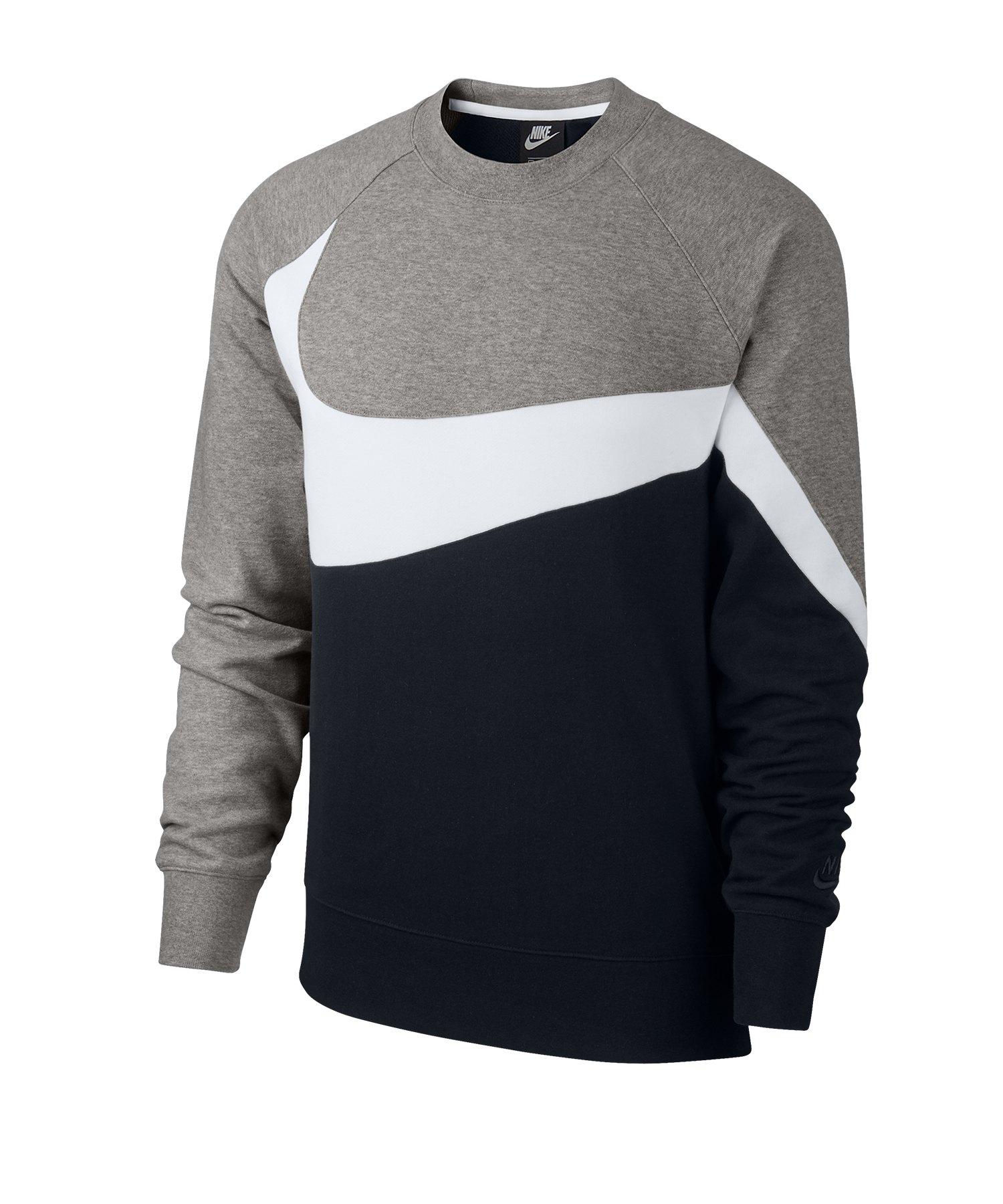 7f0a3a797c Nike Statement Crew Sweatshirt Schwarz F011  Lifestyle   Freizeit ...