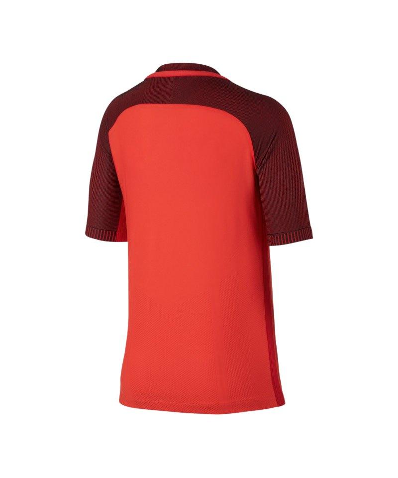 Nike Strike Football Top T-Shirt Kids Orange F852   Kurzarm   Shortsleeve   Shirt ...