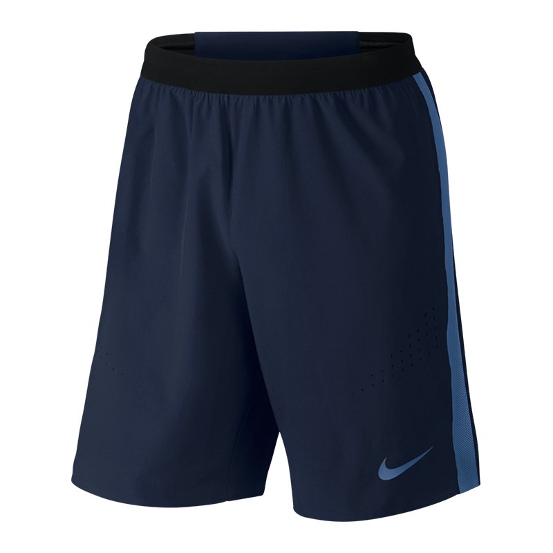 nike strike woven short el hose kurz blau f457. Black Bedroom Furniture Sets. Home Design Ideas