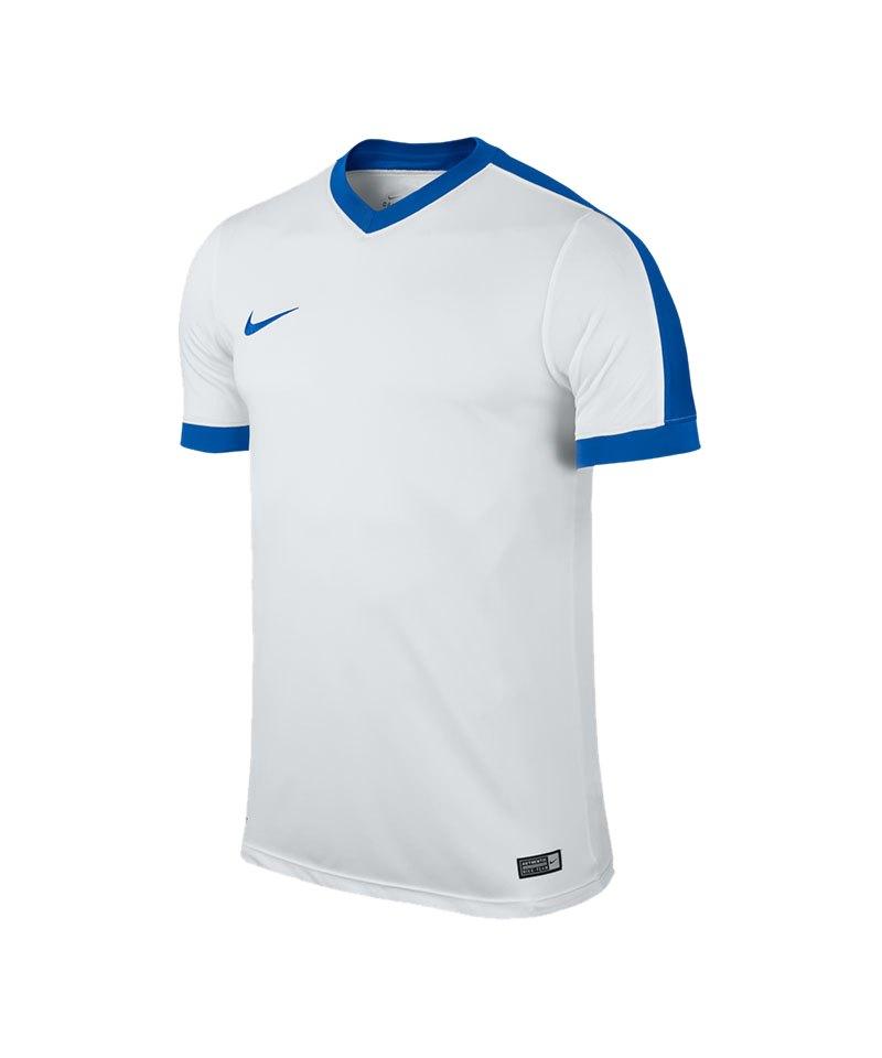 promo code 8e75e 5a90b Nike Striker IV Trikot kurzarm Weiss Blau F100 - weiss