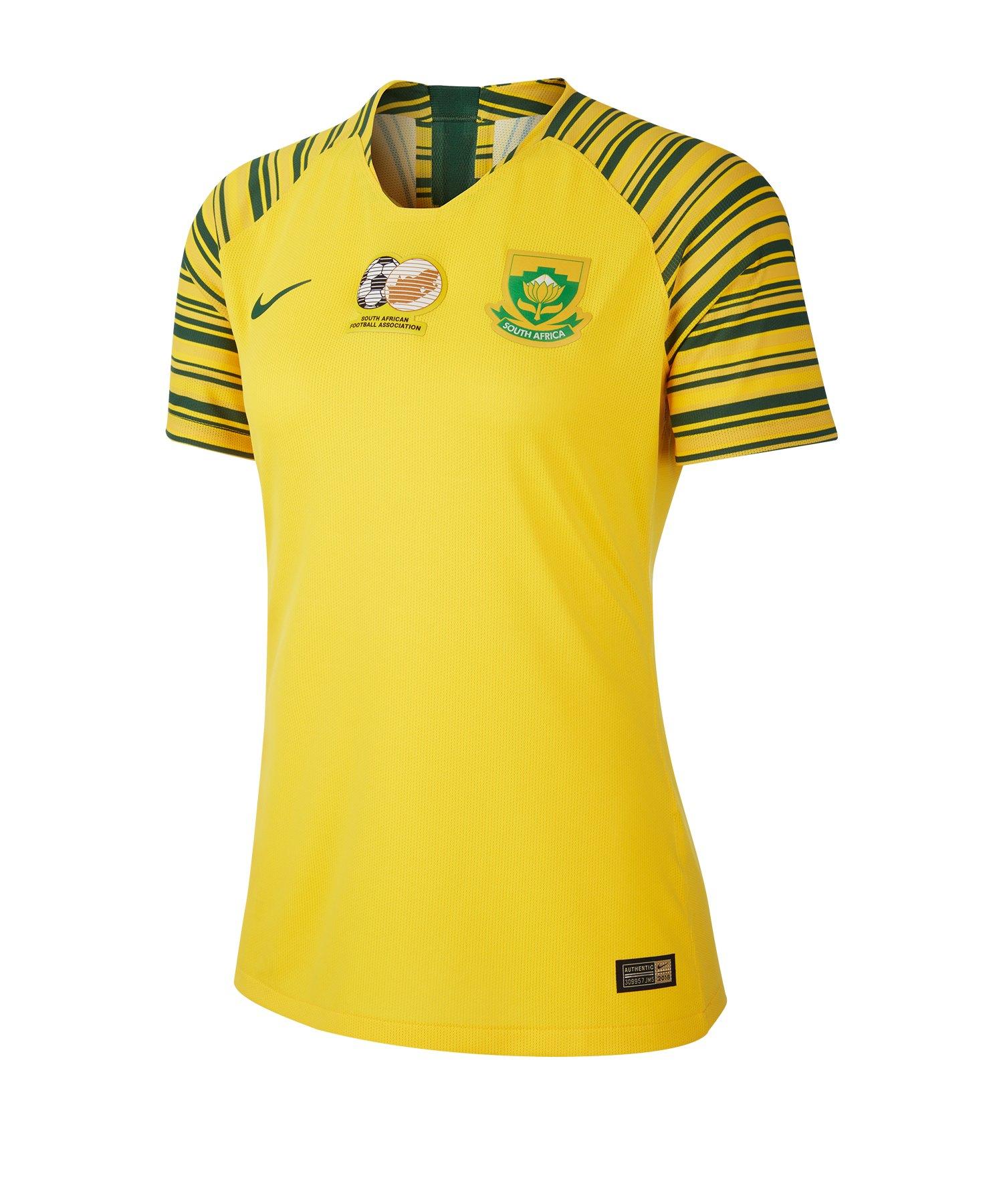 Nike Südafrika Trikot Home Damen WM 2019 Gelb F719