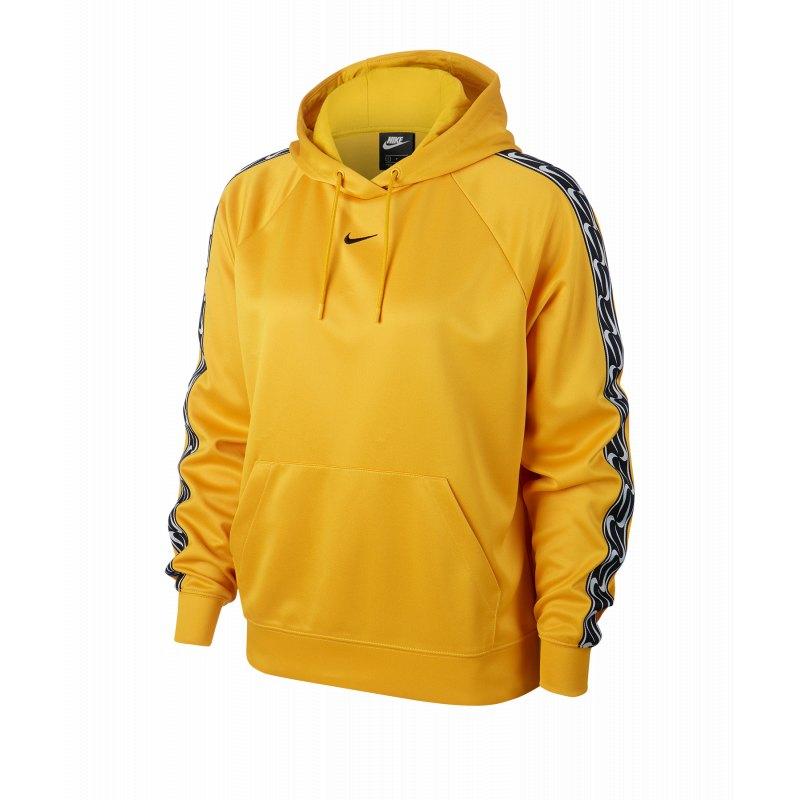 buy online 31143 47fbb Nike Swoosh Hoody Kapuzenpullover Damen Gelb F743