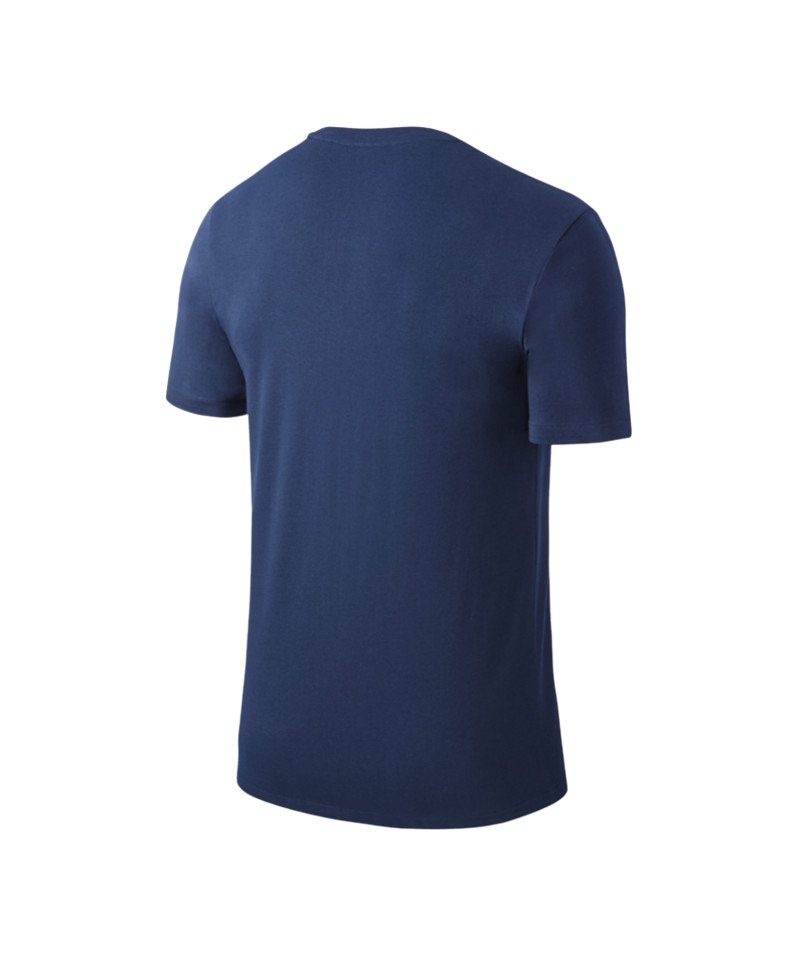 1aa5c214757c Nike Team Club Blend Tee T-Shirt Blau F451   Kurzarmshirt ...