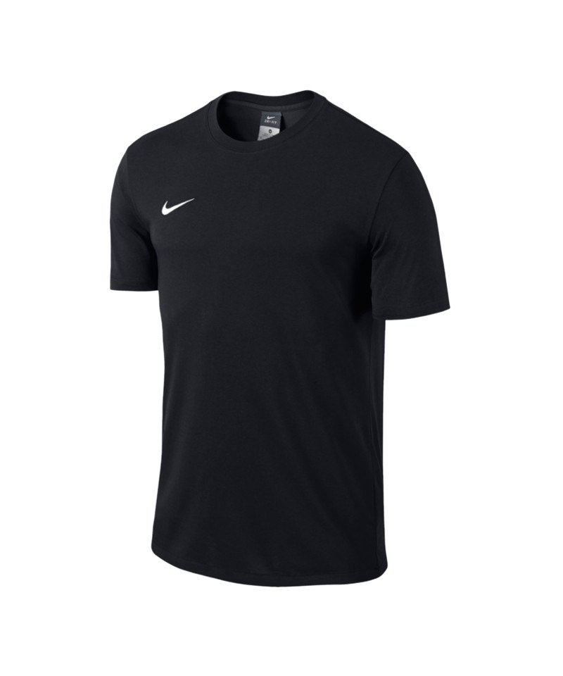 premium selection 2e327 65ea1 Nike Team Club Blend Tee T-Shirt Schwarz F010