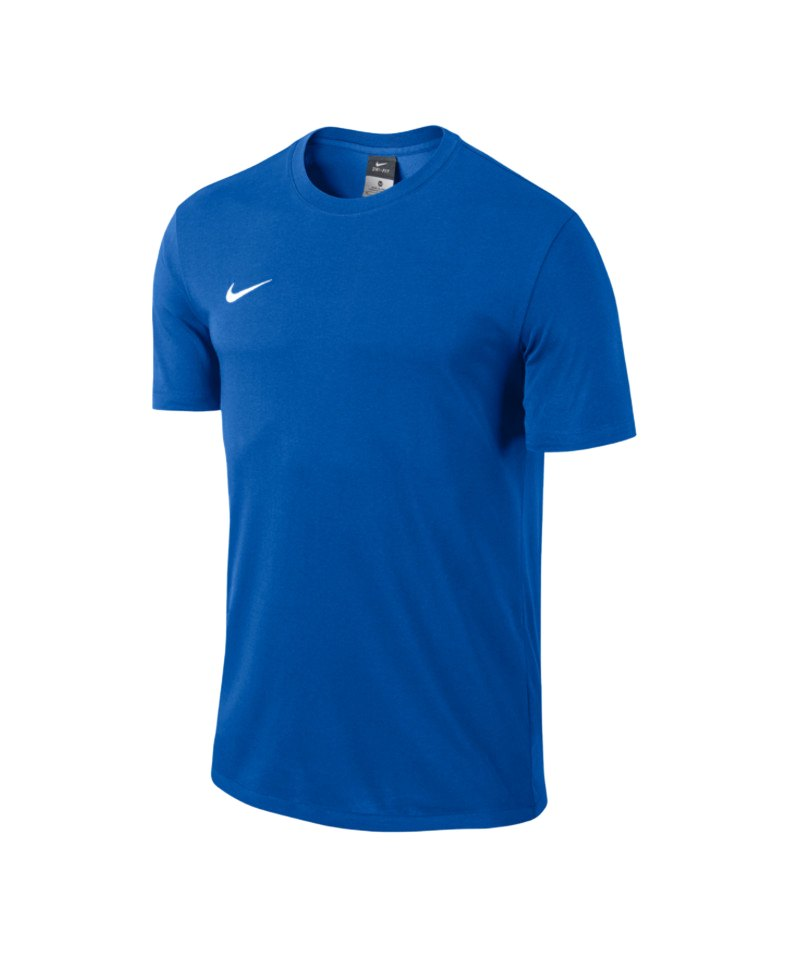 bf1ed51e Nike Team Club Blend Tee T-Shirt Kids Blau F463 | Kurzarmshirt ...