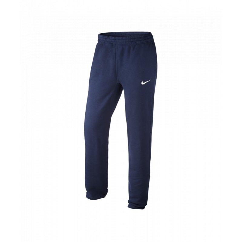 nike team club cuff pant hose lang blau f451 jogginghose. Black Bedroom Furniture Sets. Home Design Ideas