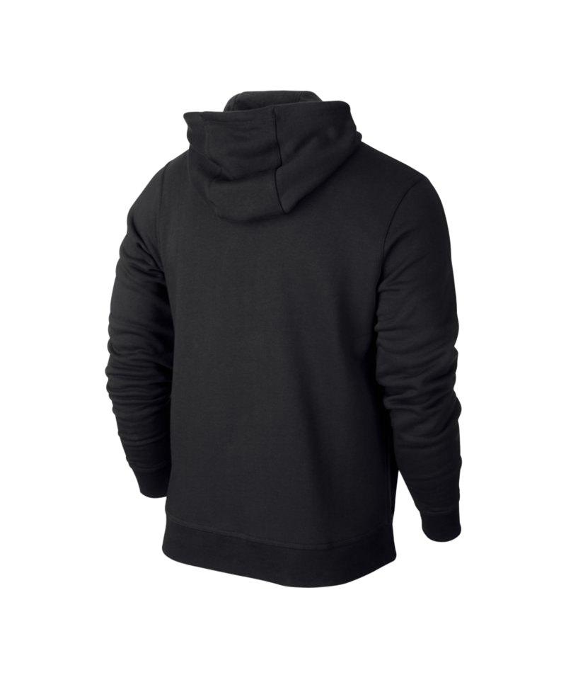 Nike Team Club Fullzip Hoody Jacke Schwarz F010   Kapuzenjacke ... eb430c8808