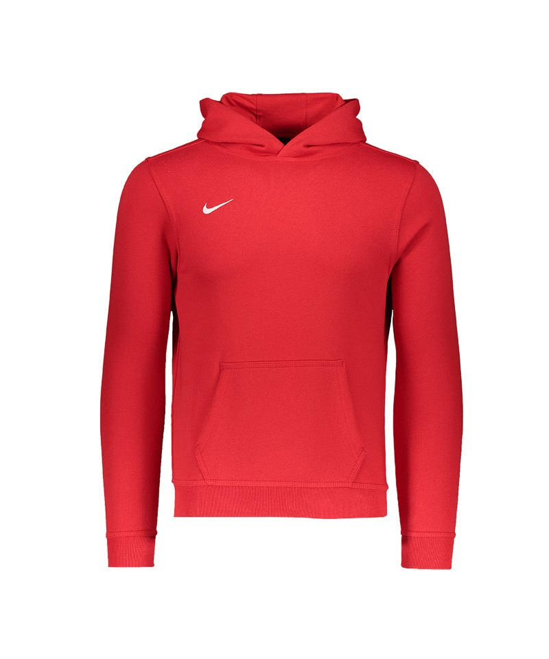 promo code bb377 3c6d0 Nike Team Club Hoody Kids Rot F657 - rot