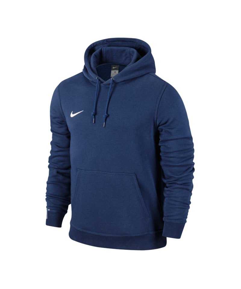 nike team club hoody sweatshirt blau f451. Black Bedroom Furniture Sets. Home Design Ideas