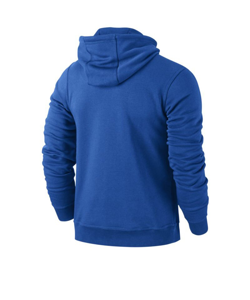 nike team club hoody sweatshirt blau f463. Black Bedroom Furniture Sets. Home Design Ideas