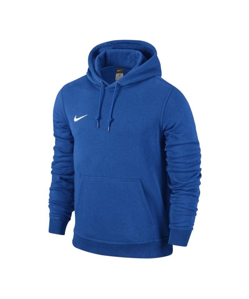 best sneakers a7923 e57d2 Nike Team Club Hoody Sweatshirt Blau F463 - blau