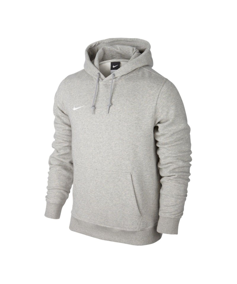 cheaper d736f 941f3 Nike Team Club Hoody Sweatshirt Grau F050