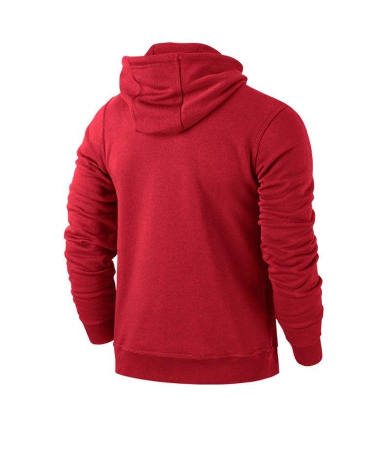 official photos aa6d1 9dca9 Nike Team Club Hoody Sweatshirt Rot F657