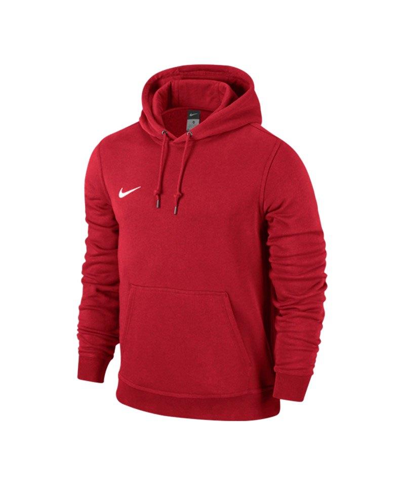 nike team club hoody sweatshirt rot f657 kapuzensweatshirt kapuzenpullover. Black Bedroom Furniture Sets. Home Design Ideas