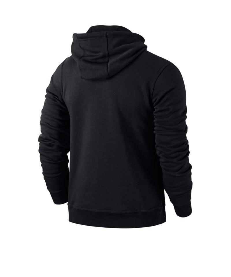 Nike Team Club Hoody Sweatshirt Schwarz F010 Kapuzensweatshirt