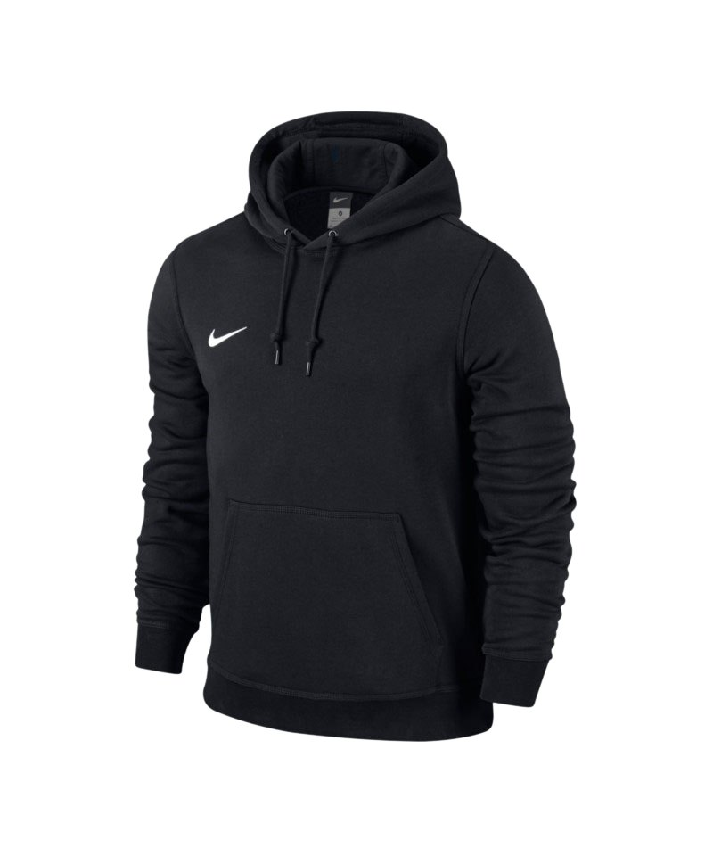 nike team club hoody sweatshirt schwarz f010. Black Bedroom Furniture Sets. Home Design Ideas