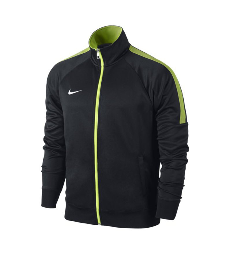 nike team club trainer jacket jacke schwarz f011. Black Bedroom Furniture Sets. Home Design Ideas